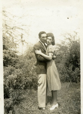 Marcus and Leilani Klein Wedding Day - June 28, 1941