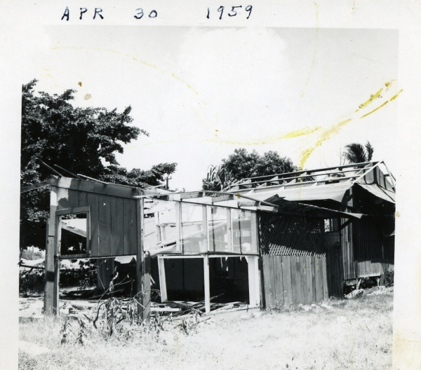 house on damon track april 30, 1959
